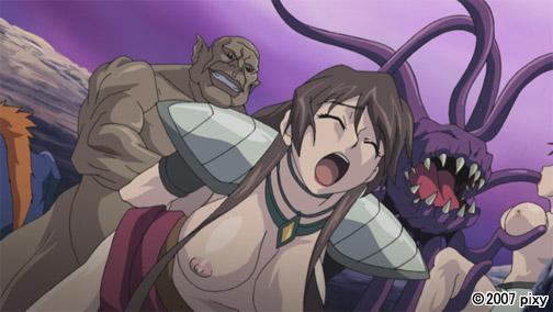 【二次エロ】戦乙女スヴィア Vol.01 二人のヴァルキリー【アニメ】のエロ画像1枚目