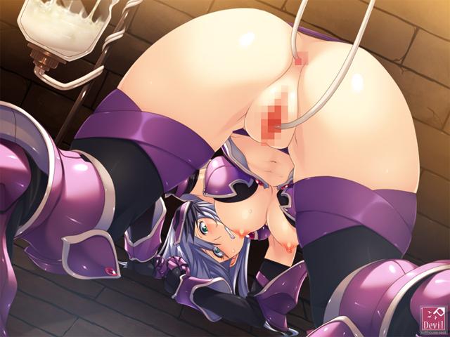 性騎士アテナ ―メス豚へと堕ちる戦女神―