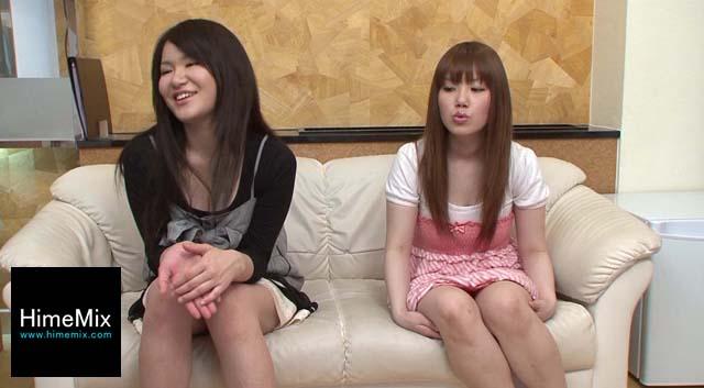 【エロ動画】sana&yoshikaのエロ画像1枚目